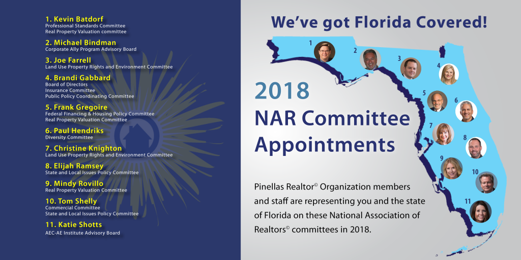 PRO Members on National Association of Realtors Committees